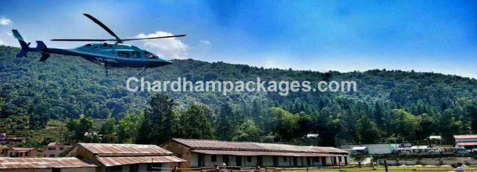 Chardham Helicopter Tour Package 2018
