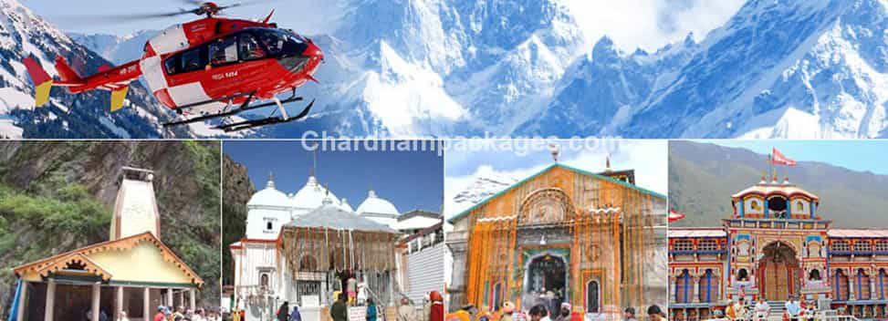 Chardham Tour by Helicopter 2018