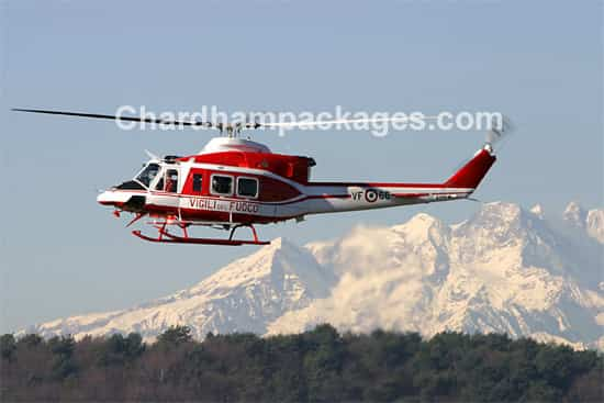 Book Do Dham Tour by Helicopter