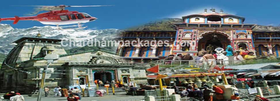 Do Dham Tour by Helicopter 2019