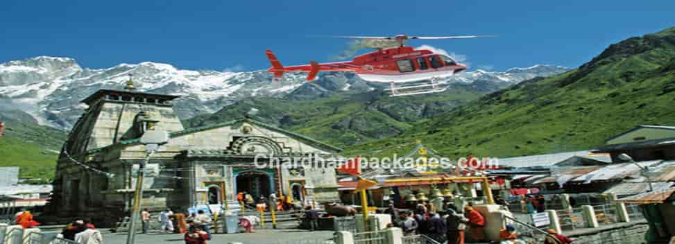 Kedarnath Helicopter Booking