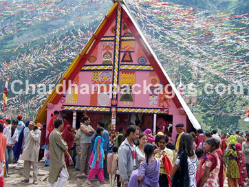 machail yatra by helicopter