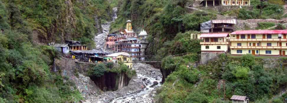 Yamunotri Temple View