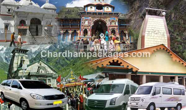 Chardham Taxi Tour Package 2018