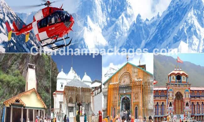 Char Dham Yatra by Helicopter 2018